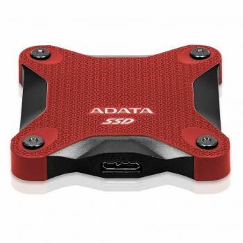 UNIDAD SSD EXTERNO ADATA SD600Q 240GB USB 3.1 ROJO(O.B)