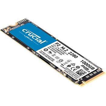 UNIDAD SSD M.2 CRUCIAL P2 1TB 3D NAND NVME PCIE CT1000P2SSD8