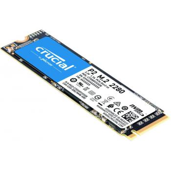 UNIDAD SSD M.2 CRUCIAL P2 500GB 3D NAND NVME PCIE CT500P2SSD8