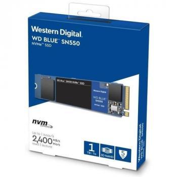 UNIDAD SSD M.2 WD SN550 1TB WDS1000T2B0C BLUE PCIE NVME