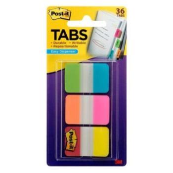 Banderitas 3M Adhesivas Rígidas Colores Brillantes 2.5x3.8cm 3 Blocks C/12
