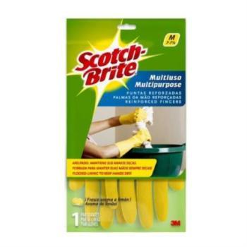 3M Guante Multiusos Scotch Brite 7 - 7 1/2 Ch/Med 1 Pza