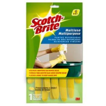 3M Guante Multiusos Scotch Brite 8 - 8 1/2 Med/Gde 1 Pza