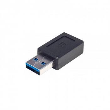 ADAPTADOR MANHATTAN USB TIPO C V3.1 AM-CH NEGRO 354714