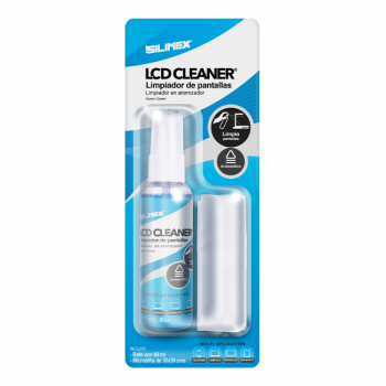 KIT LIMPIADOR DE PANTALLAS SILIMEX LCD CLEANER KIT 60 ML