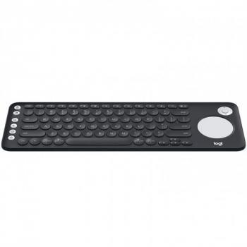 TECLADO LOGITECH K600 TV NEGRO CON TOUCHPAD SMART TV/PC/TABLET (920-00