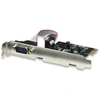 TARJETA SERIAL MANHATTAN PCI EXPRESS 1 PUERTO 158152