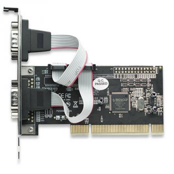 TARJETA SERIAL MANHATTAN PCI 2 PTOS DB9*2 158213