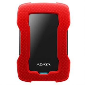 DISCO DURO ADATA 1TB HD330 SLIM ROJO 3.1