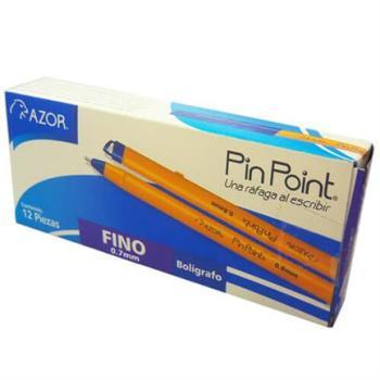BOLIGRAFO PIN POINT P. FINO 0.7MM AZUL C/12PZS