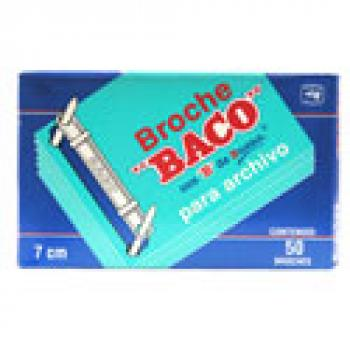 BROCHE BACO ARCHIVO 7 CMS C/50
