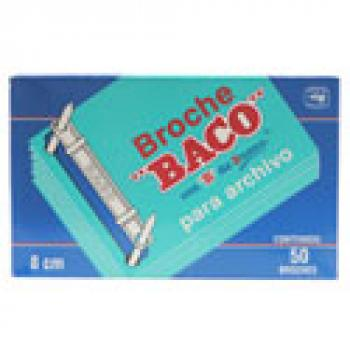 BROCHE BACO ARCHIVO 8 CMS C/50