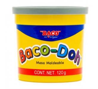 Plastilina Baco Doh 120 gr Color Gris