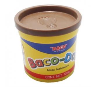 Plastilina Baco Doh 120 gr Color Café