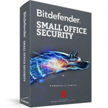 Licencia Antivirus Bitdefender Small Office Security 1 Server+10 Usuarios Caja