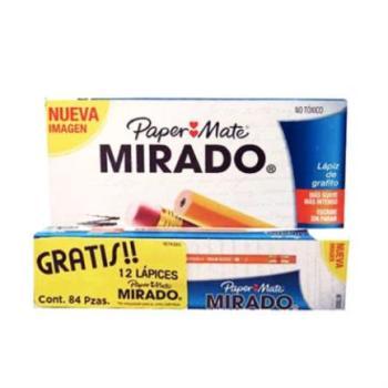 LAPIZ MIRADO 2 C/72 + 12 GRATIS