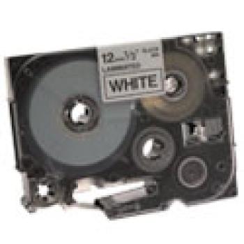 CINTA BROTHER TZ-231 NEGRO/BLANCO 12MM PT320/340/520/540