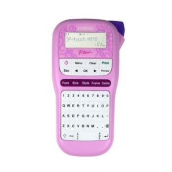 Rotulador Electrónico Brother P-Touch Cintas Tze Laminada Cortador Manual/Ideal Hogar-Oficina en Casa/Garantía 1 Año