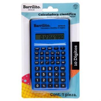 Calculadora Científica Barrilito 10 Dígitos 1 Pza