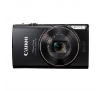 Cámara Canon PowerShot ELPH 360 HS 20.2MP FHD 1080p Zoom 12x Color Negro