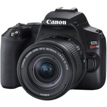 Camara Canon EOS Rebel SL3 con Lente EF-S 18-55mm Sensor CMOS 24.1MP