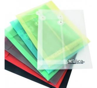 Sobre P/Documentos Celica Oficio C/Hilo Color Naranja C/12 Pzas
