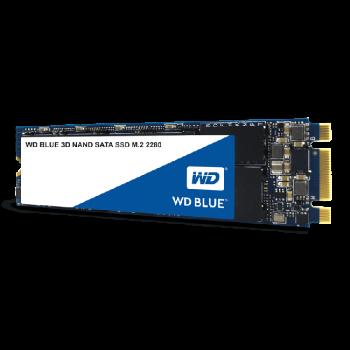 UNIDAD SSD M.2 2280 WD 250GB WDS250G2B0B 3D NAND BLUE SATA III