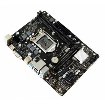 TARJETA MADRE BIOSTAR H310MHP DDR4 HDMI VGA PCIe SOC 1151 8th/9th GEN