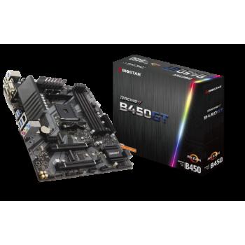 TARJETA MADRE BIOSTAR B450GT DDR4 HDMI VGA PCIE M.2 SOC AM4 RYZEN