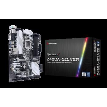 TARJETA MADRE BIOSTAR Z490A-SILVER DDR4 HDMI M.2 PCIE SOC 1200 10THGEN