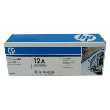 TONER HP 12A NEGRO PARA LASERJET 3015, 3052 (Q2612A)