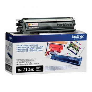 TONER BROTHER TN210BK NEGRO 2,200 PAG P/HL3040CN/3070CW MFC9010CN/9120