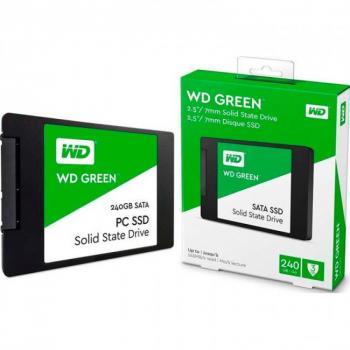UNIDAD SSD WD WDS240G2G0A 240GB GREEN 2.5? SATA