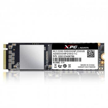 UNIDAD SSD ADATA XPG SX6000P PCIe  M.2 2280 256GB(ASX60000PNP-256GT-C)