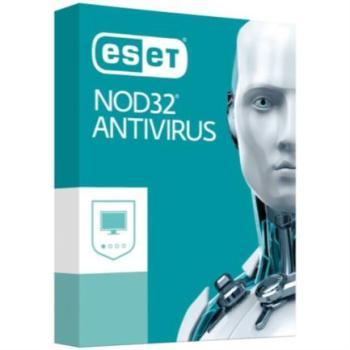 Licencia Antivirus Eset Nod32 1 Año 3 Usuarios Caja
