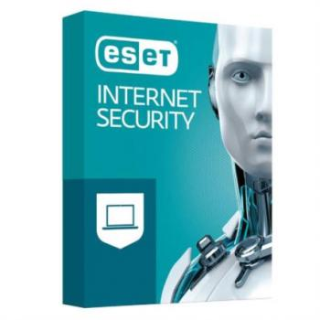 Licencia Antivirus Eset Internet Security 1 Año 10 Usuarios Caja