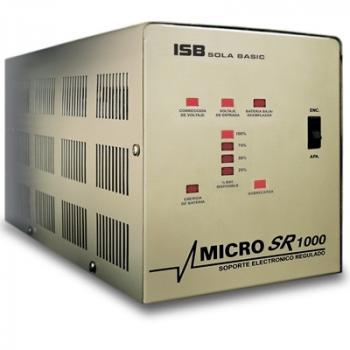 NOBREAK SOLA BASIC MICRO SR, XR-21-102 1000VA/650W, 4 CONTACTOS