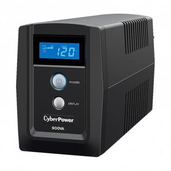 UPS/NO BREAK CYBERPOWER OM900ATLCD 900VA/540W LCD/AVR/6 NEMA