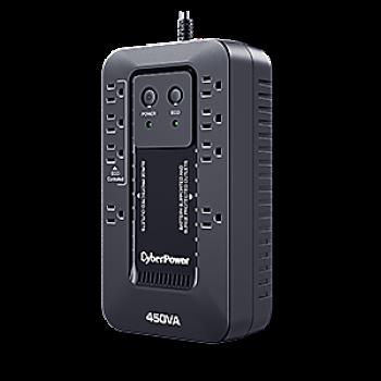 UPS/NO BREAK CYBERPOWER EC450G 450VA/260W STANDBY/8NEMA/USB