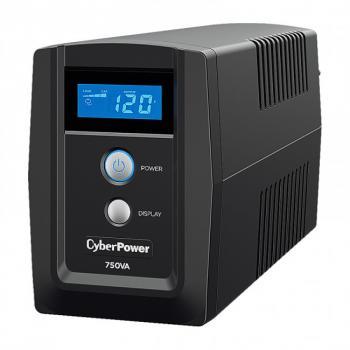 UPS/NO BREAK CYBERPOWER OM750ATLCD 750VA/420W LCD/AVR/6 NEMA