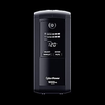 UPS/NO BREAK CYBERPOWER CP1000AVRLCDa 1000VA/600W LCD/ AVR/9NEMA