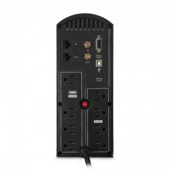UPS/NO BREAK CYBERPOWER CP1500AVRT 1500VA/900W AVR/Torre/ 8 NEMA