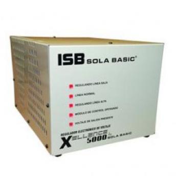 REGULADOR SOLA BASIC XELLENCE 5000, MONOFASICO, XL -13-250, 5000VA