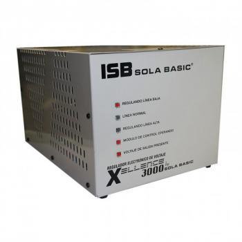 REGULADOR SOLA BASIC XCELLENCE XL-22-230, 3000VA, BIFASICO, 220V