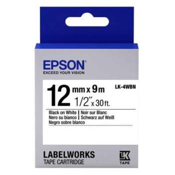 CINTA EPSON LW300/LW400 NEGRO/BLANCO