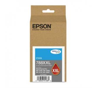 Tinta Epson 788XXL Capacidad Extra Alta WF-5190/WF-5690 Color Cian