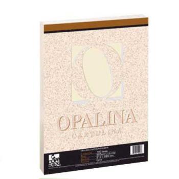 CARTULINA FACIA OPALINA CARTA MARFIL C/100 225GR