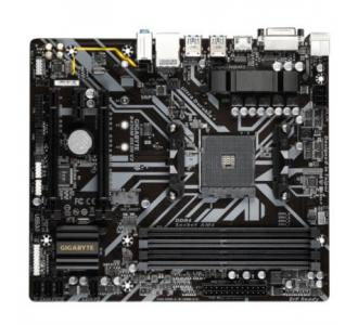 Tarjeta Madre Gigabyte AMD B450 DS3H V2 S AM4 Ryzen 5000 3ra Generación 4xDDR4 2933 128GB M.2 SATA-PCIe