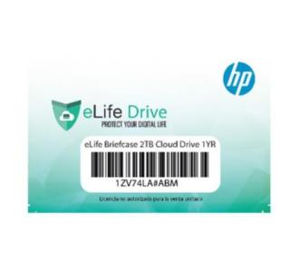 Accesorio HP Elife Drive 2 TB x 1 Year Bitdefender Plus 2017