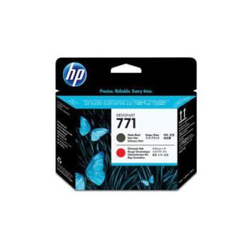 CABEZAL HP LF 771 NEGRO MATTE/ROJO CROMATICO Z6200 775ML